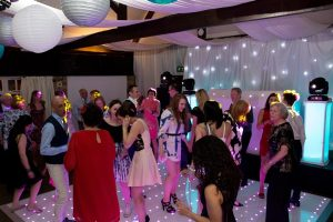 Haycock Hotel wedding Disco