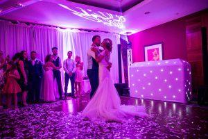 Hallmark Cambridge wedding Disco
