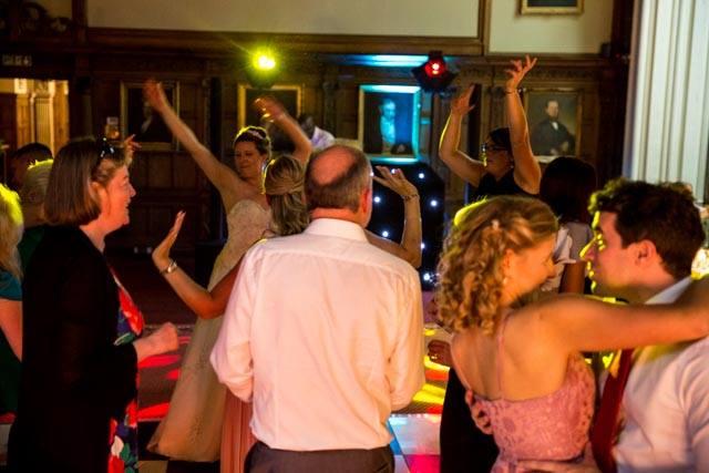 Rushton Hall Wedding DJ and Disco