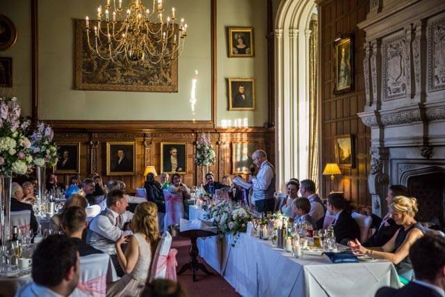 Rushton Hall Wedding Speeches