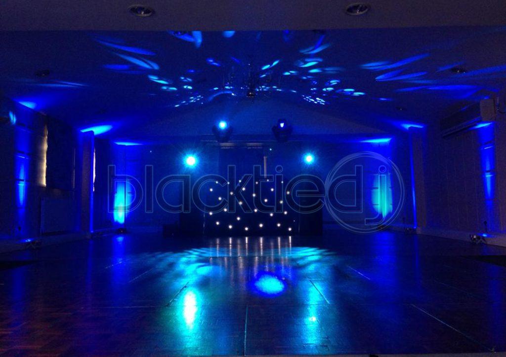 Wedding DJ Disco Uplighting Moodlighting Rushton Hall