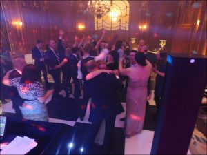 Guests on the Dancefloor - Claridge's Wedding Disco