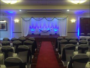 Marriott Hotel Cambridge wedding disco