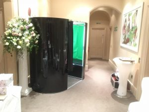 photo booth at wedding hire