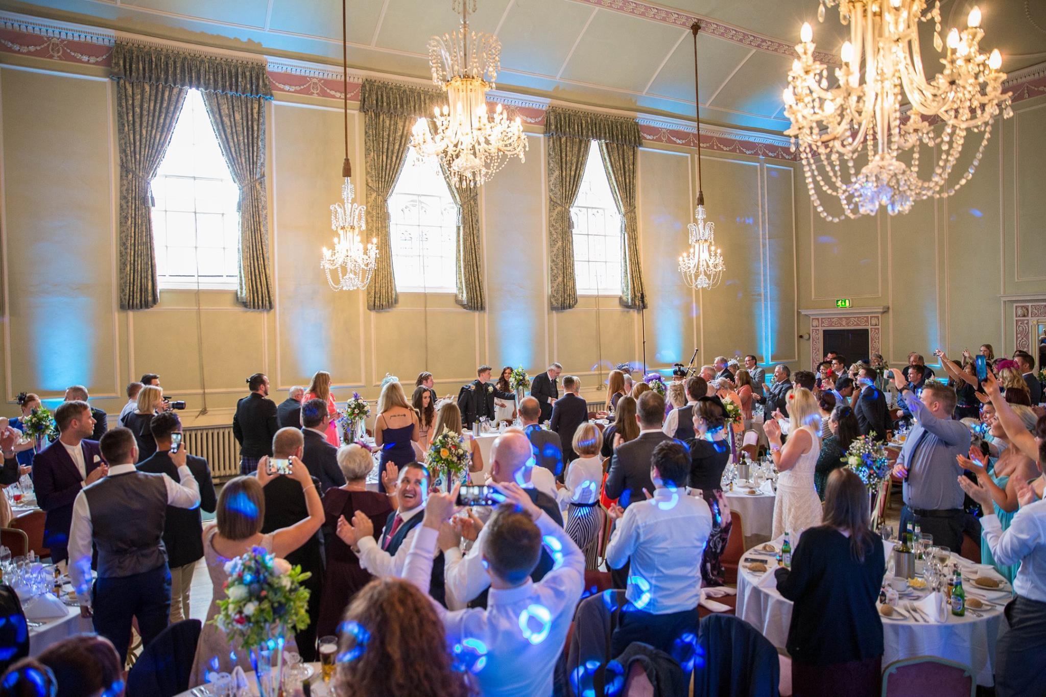 Uplighting Wedding Venue Decor Mood Lighting Hire Blacktiedj
