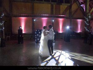 Wedding Disco Hire - Wilobe Barn