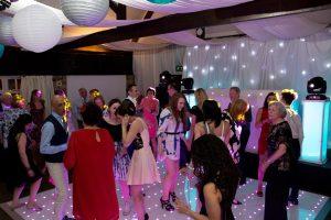 Haycock Hotel wedding Disco
