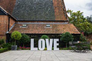 Love letter hire elms barn