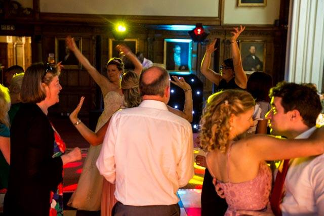 Rushton Hall Wedding DJ and Disco