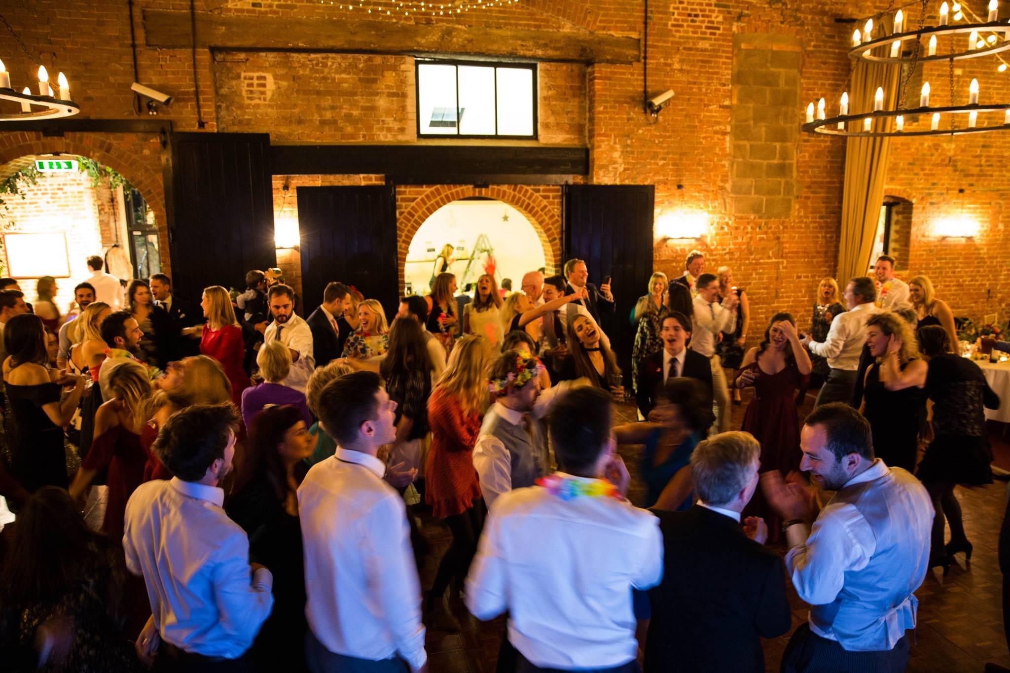 sussex barn wedding dj and disco