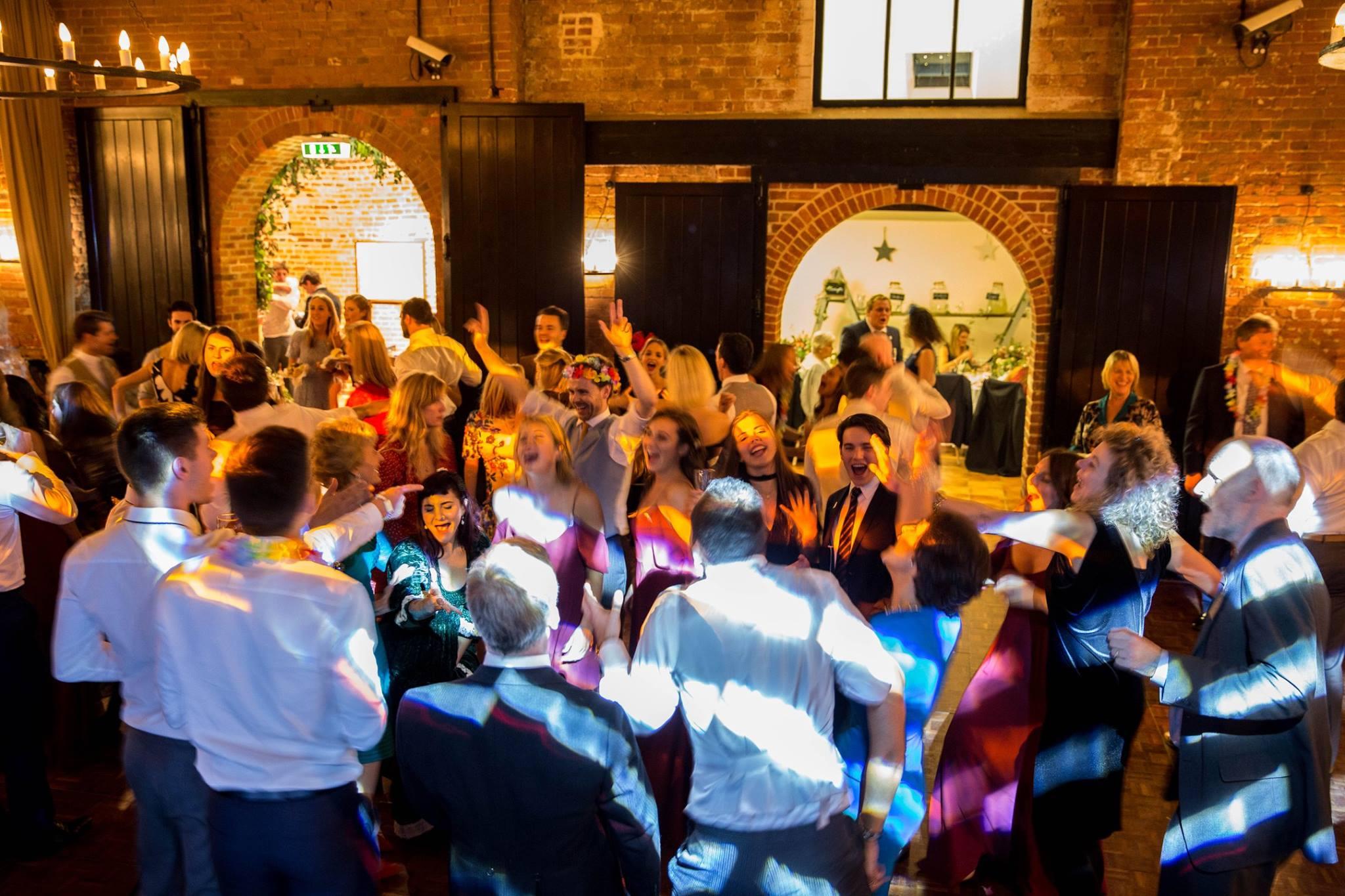 Sussex Barn Wedding Disco