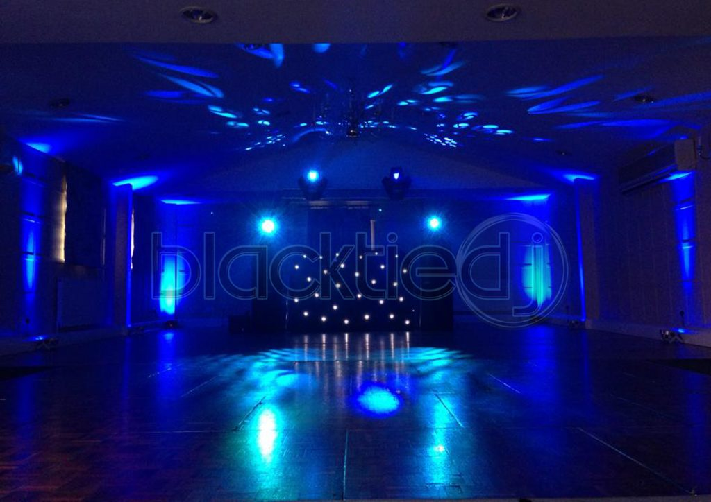 Wedding DJ Disco Uplighting Moodlighting Rushton Hall