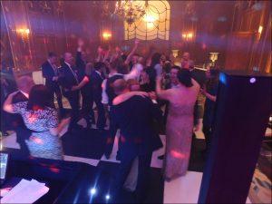 Guests on the Dancefloor - Claridge's Wedding Disco