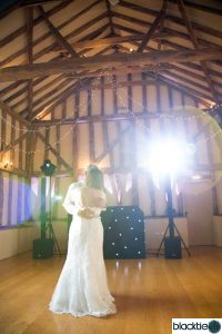Garden Barn Wedding Disco and DJ