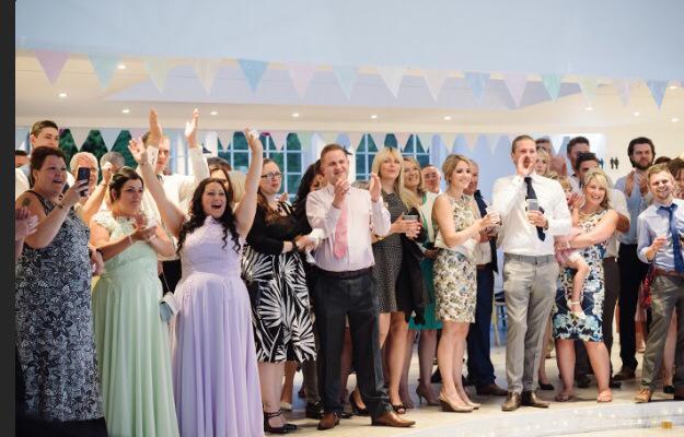Irnham Hall Wedding Disco